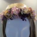 Purple and Faded Lavender Potpourri Crown